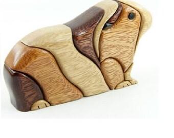GUINEA PIG - Wood Flair - Wood Sculputure-ANIMALS