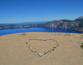 Love in Crater Lake