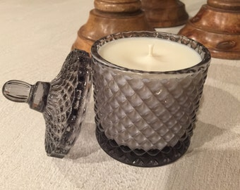 Grey Candle/27 hour burn time/Home Decor/Luxury Candles