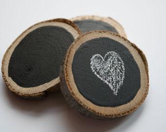 Mini Wooden Chalkboards - Set of 3