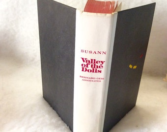 Valley of the Dolls, first edition 7th printing Jacqueline Susann 1966. Very good. Free ship