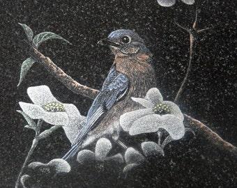 Blue Bird by Stan White