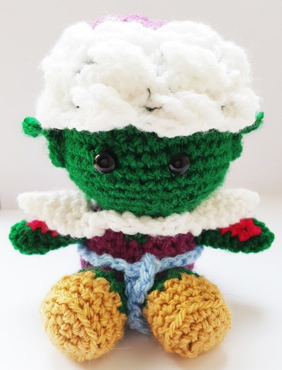 Large Amigurumi Ball Pattern : Dragon Ball Z Piccolo Amigurumi Pattern by Martily1990 on Etsy