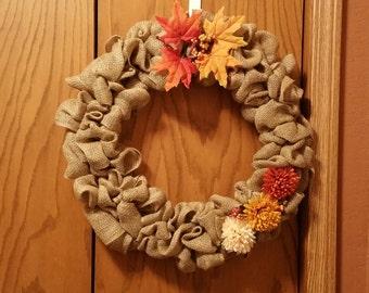Fall Mum Wreaths
