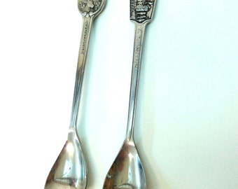 lot of 2 Vintage collectible Spoons silver 800 From Netherlands