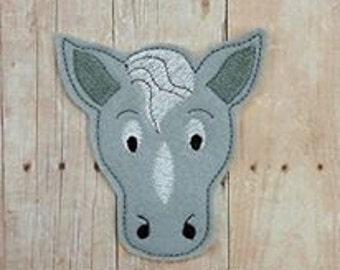 Horse Feltie Embroidery Design