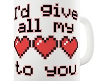 I'D Give All My Lives Ceramic Mug