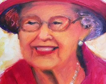 Her Majesty the Queen's 90th Birthday, so pretty in pink!