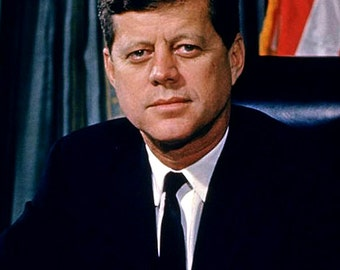 John F. Kennedy - 35th President of the United States - 5X7 or 8X10 Photo (EP-964)