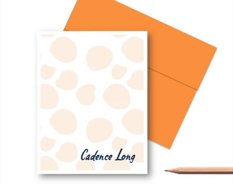 Personalized Stationery Set, Personalized Note Cards, Personalized Thank You Note Cards, Personalized Stationary sets for Her