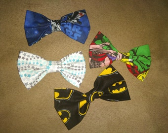 Little boy clip on bow ties