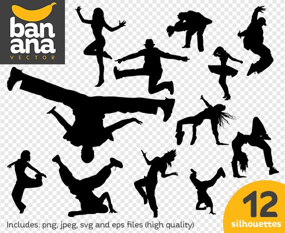 sale hiphop 1 silhouettes png jpg svg eps files high