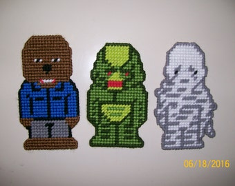 Monster Halloween Magnets