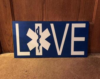 12x24 EMS Love Sign