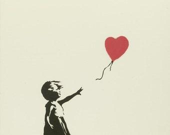 Banksy - Balloon Girl
