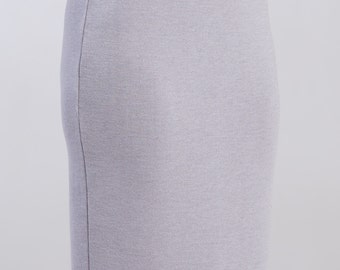 Knitted skirt elastic soft wool adjustable woman fashion