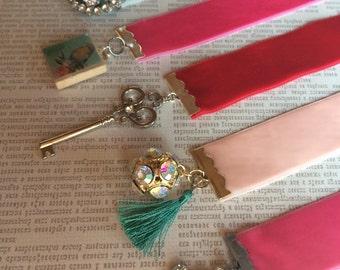 Vintage Style Ribbon Bookmark