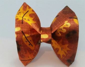 Fall Leaves Bowtie