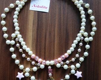 Lolita fairy dream necklace