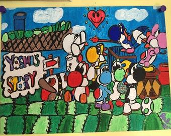 Yoshi Painting