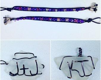 Bracelet and sea hlass