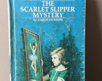 Vintage ~ Nancy Drew, The Scarlet Slipper Mystery~ 1974