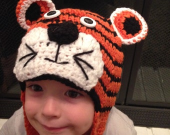 Tiger Crochet hat