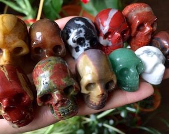 Crystal Skull - Gemstone Skulls
