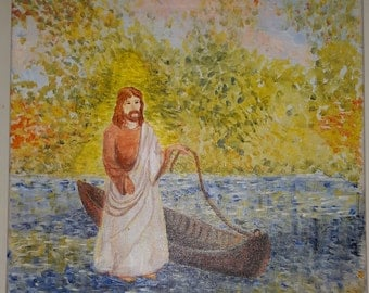 Jesus and the Boat (original)