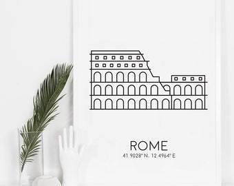 Photography Prints, Wall Art, Travel Print, Rome Photography, Best Sellers, Bedroom Art, Instant Download, Printable, City Printable