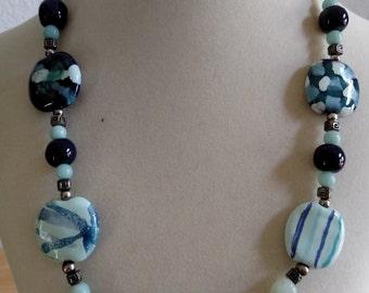 Kazuri bead necklace - sample