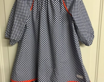 War Eagle! Peasant Style Dress Size 6