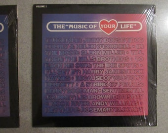 The Music of Your Life Vintage Record Collection. Volumes 1-3 From the 80s