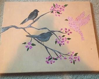 A Bird Made of Flowers