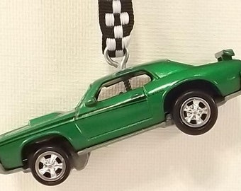 1969 Mercury Cougar Eliminator Ornament - Green - Christmas Ornament - FREE SHIPPING