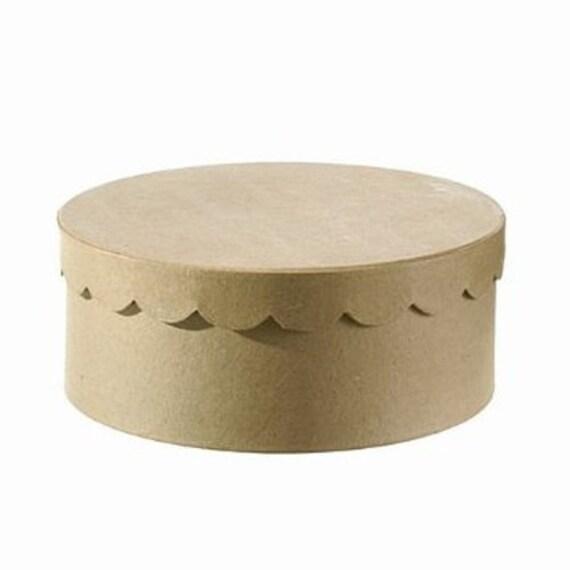 articles similaires boite g teau ronde couvercle ondul en papier 25 x 10 cm boite. Black Bedroom Furniture Sets. Home Design Ideas