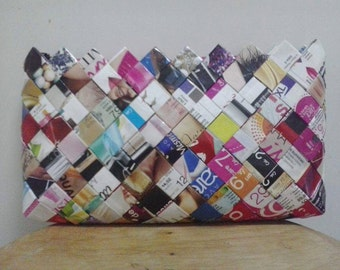 Purses hand made from recycled paper