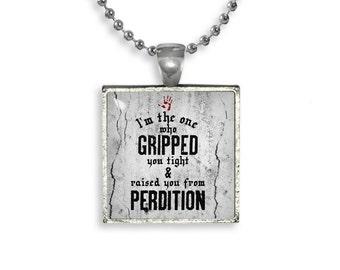 Supernatural Necklace Pendant Fandom Jewelry Dean Winchester Sam Winchester Castiel Angel Cosplay Fangirl Fanboy