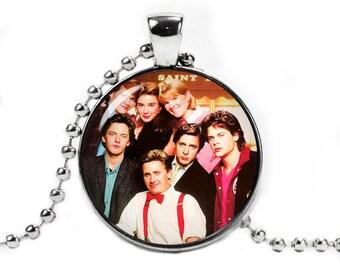 St. Elmo's Fire Necklace Pendant Fandom Jewelry Fangirl Fanboy