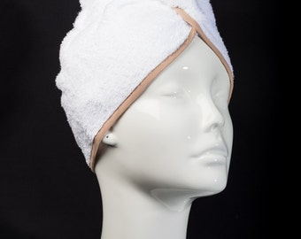 Beige Classic Collection - The Ultimate Hair Towel by Itza Products : Superior Quality Terry Cloth