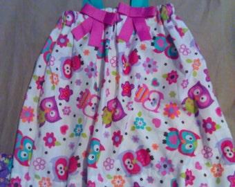 2T owl dress
