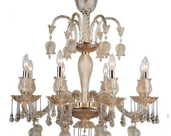 Elegant 8-Light Chandelier