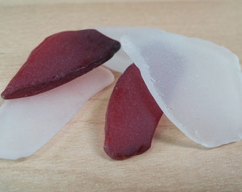 Tumbled glass pieces - Jewelry quality - Faux sea glass