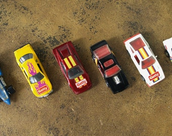 Getty Hot Wheels Die Cast Collectible Cars – Circa 1982 – 88 – 7 count