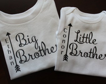 Big Brother Shirt, Little Brother Shirt, Big Brother Personalized shirt, Little Brother, Little Brother Shirt, Big Brother Shirt