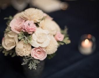 Reception Centerpiece, Church Wedding Decorations, Home Decor, Wedding Reception, Wedding Decor, Sola Flowers, Small Floral Arrangement