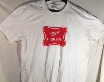 XL Men's Miller High Life Basic TShirt