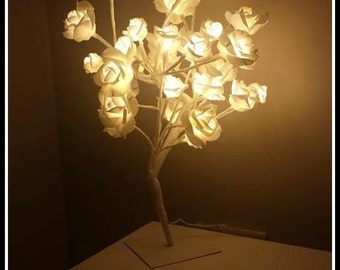 Rose led tree lights up delivery to UK only
