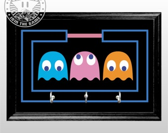 Pacman ghosts Themed key holder