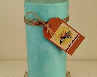 "5"" x 9"" Soy Pillar Candle"